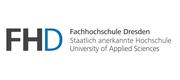 Fachhochschule Dresden - Staatlich anerkannte Hochschule Logo
